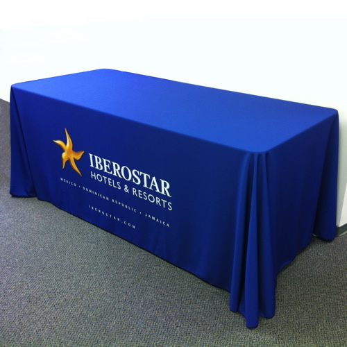 6ft Draped Table Cover & Drape Table Cover 6ft - SGBANNER.com