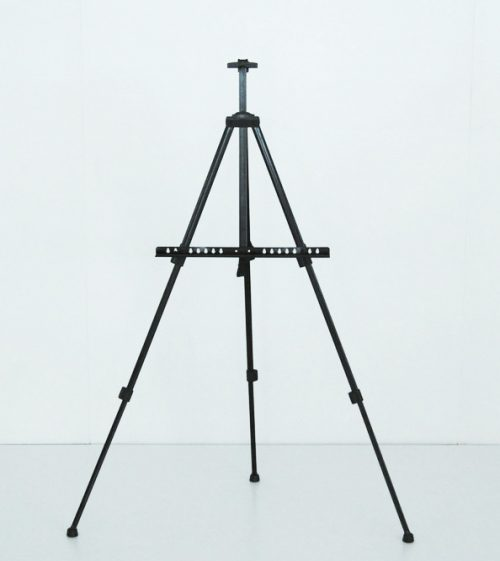 Easel Stand-Aluminum Black