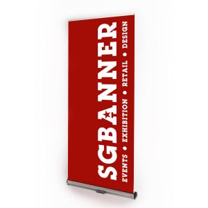 Interchangeable Fabric Roll up banner