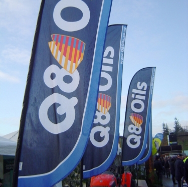 Feather Banner 5.5m Extra Large