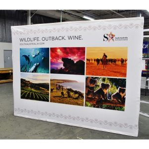 Pop Up Display Fabric 4x3
