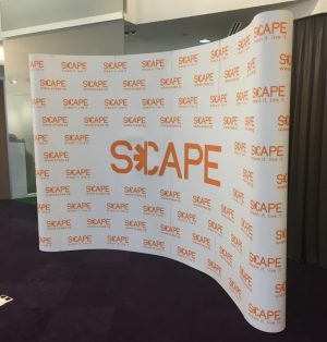 Pop Up Display 4x3 Curve - SCAPE
