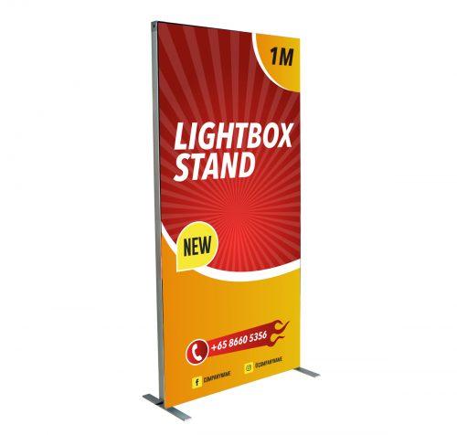 Lightbox Stand 1m